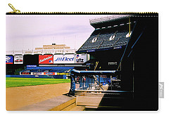 From The Dugout  The Yankee Stadium Carry-all Pouch by Iconic Images Art Gallery David Pucciarelli