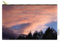 From The Rising Of The Sun Carry-all Pouch