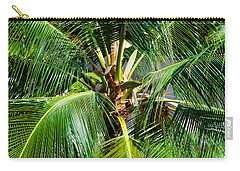 Fronds And Center Carry-all Pouch