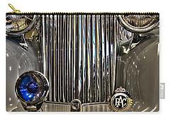 Front Detail 1947 Jaguar Carry-all Pouch