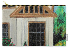 Carry-all Pouch featuring the painting Front Door 1 by Jeanne Fischer
