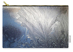 Frost Ferns Carry-all Pouch