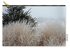 Frosted Grasses Carry-all Pouch