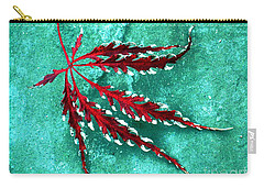 Frosted Japanese Maple Carry-all Pouch
