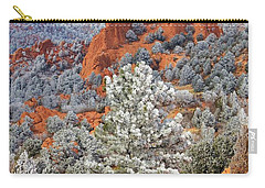 Frosted Wonderland 1 Carry-all Pouch by Diane Alexander