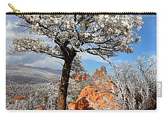 Frosted Wonderland 3 Carry-all Pouch by Diane Alexander