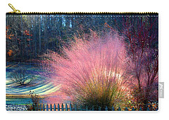 Frosty Scene Carry-all Pouch by Kathryn Meyer