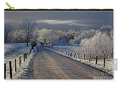Frosty Sparks Lane Carry-all Pouch
