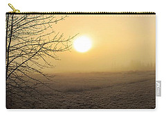 Frosty Sunrise Carry-all Pouch