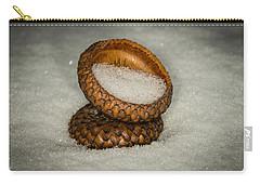 Frozen Acorn Cupule Carry-all Pouch by Paul Freidlund