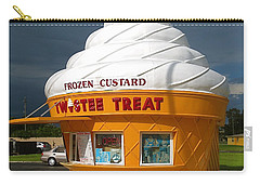 Frozen Custard Before The Storm Building Carry-all Pouch