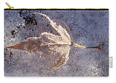 Frozen Leaf Carry-all Pouch