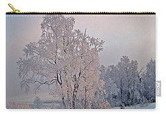 Carry-all Pouch featuring the photograph Frozen Moment by Jeremy Rhoades