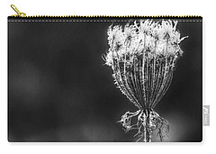 Carry-all Pouch featuring the photograph Frozen Queen by Melanie Lankford Photography