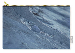 Carry-all Pouch featuring the photograph Frozen Wave by First Star Art