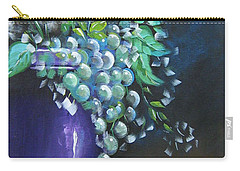 Fruit And Flowers Still Life Carry-all Pouch
