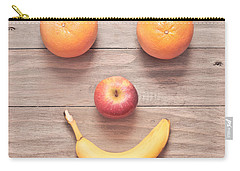 Fruit Face Carry-all Pouch by Tom Gowanlock