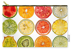 Fruit Market Carry-all Pouch by Steve Gadomski