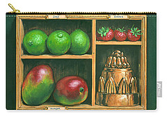 Fruit Shelf Carry-all Pouch by Brian James