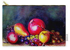 Carry-all Pouch featuring the painting Fruitfulness by Hazel Holland