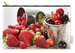 Fruits And Berries Carry-all Pouch