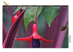 Fuchsia Delight Carry-all Pouch by Byron Varvarigos