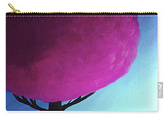 Fuchsia Tree Carry-all Pouch by Anita Lewis