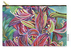 Full Blossom Orchid Tree Carry-all Pouch