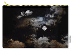 Full Moon After The Storm Carry-all Pouch