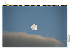 Carry-all Pouch featuring the photograph Full Moon by David S Reynolds