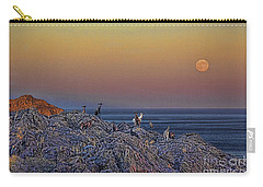 Full Moon Gathering Of Capricorn Carry-all Pouch