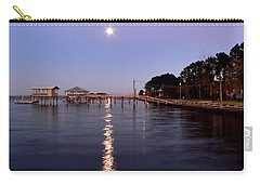 Full Moon On The Bay Carry-all Pouch