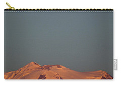 Full Moon Over Mount Rainier Carry-all Pouch