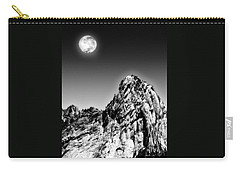 Full Moon Over The Suicide Rock Carry-all Pouch