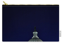 Full Moon Over Us Capitol Carry-all Pouch