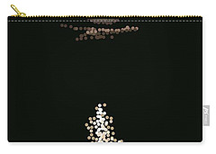 Full Moon Pointillism Carry-all Pouch