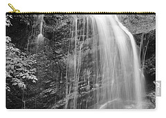 Fuller Falls Waterfall Black And White Carry-all Pouch