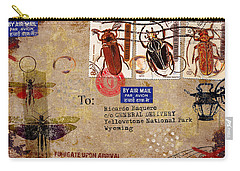 Fumigate Upon Arrival Carry-all Pouch by Carol Leigh