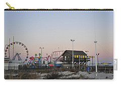 Fun At The Shore Seaside Park New Jersey Carry-all Pouch by Terry DeLuco