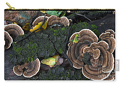 Fungi Contrast Carry-all Pouch