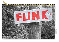 Carry-all Pouch featuring the photograph Funk Road by Brooke T Ryan