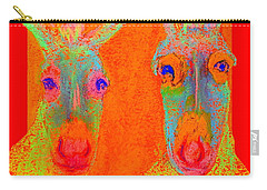 Funky Donkeys Art Prints Carry-all Pouch