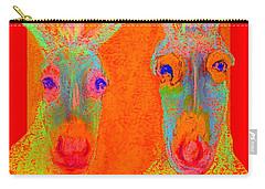 Funky Donkeys Art Prints Carry-all Pouch