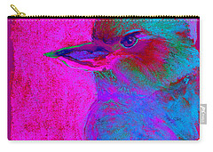 Funky Kookaburra Australian Bird Art Prints Carry-all Pouch