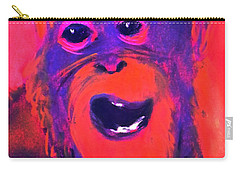 Funky Monkey Happy Chappy Carry-all Pouch