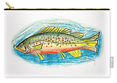 Funky Trout Carry-all Pouch