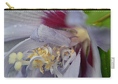Carry-all Pouch featuring the photograph Fuscia by Richard Ricci