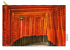 Fushimi Inari Carry-all Pouch by Jonah  Anderson