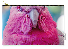 Galah - Eolophus Roseicapilla - Pink And Grey - Roseate Cockatoo Maui Hawaii Carry-all Pouch by Sharon Mau