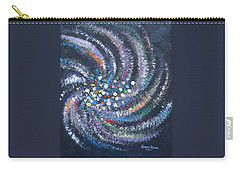 Galaxy Swirl Carry-all Pouch by Judith Rhue